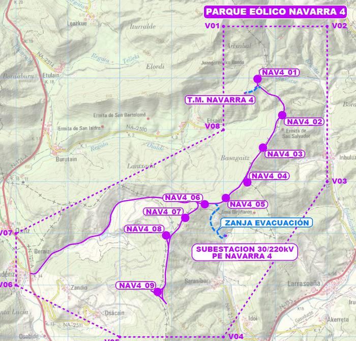 Parke eolikoen aurkako kontzentrazioak, Iruñean, bihartik eta etzi
