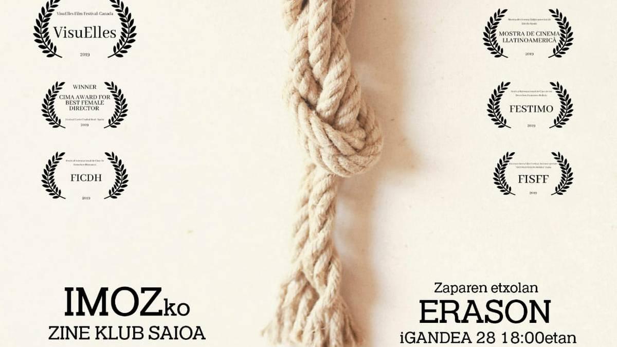 'Cuerdas' pelikularen proiekzioa izanen da igandean Erasoko zine klubean