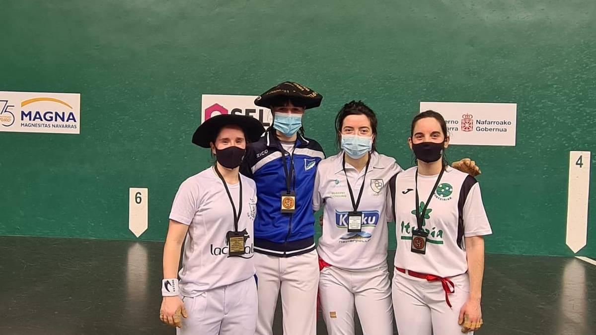Nafarroako binakako txapelketa irabazi du Andrea Aldaregia latasarrak