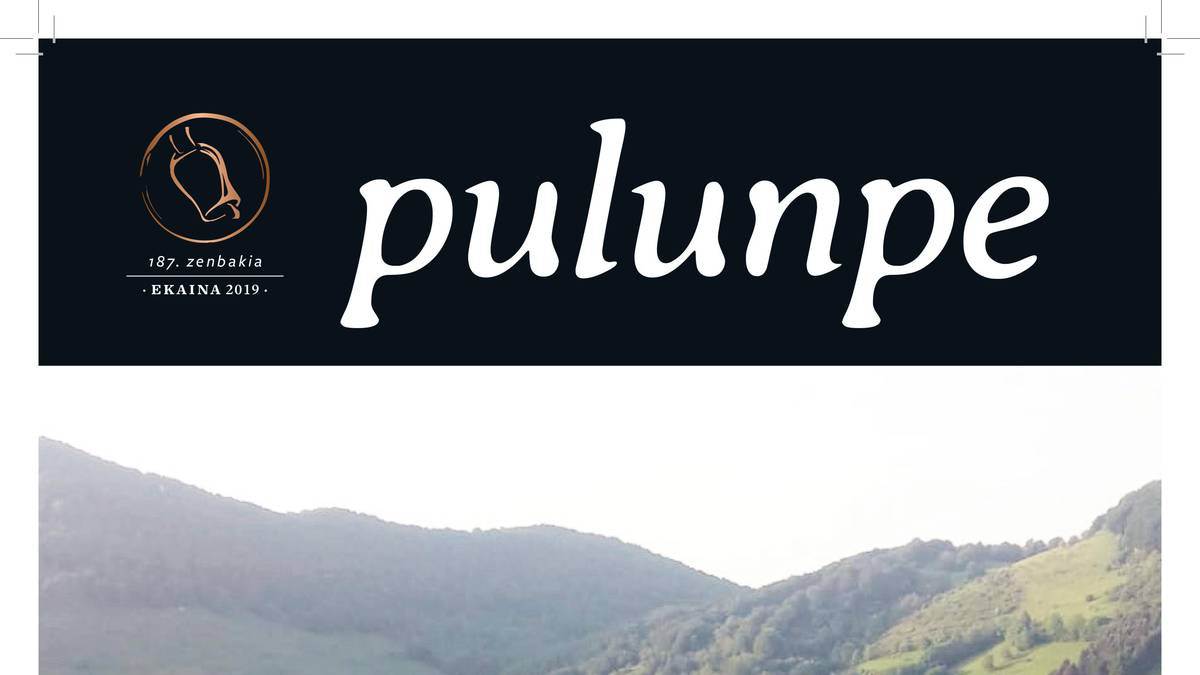 Ekaineko Pulunpe, irakurgai