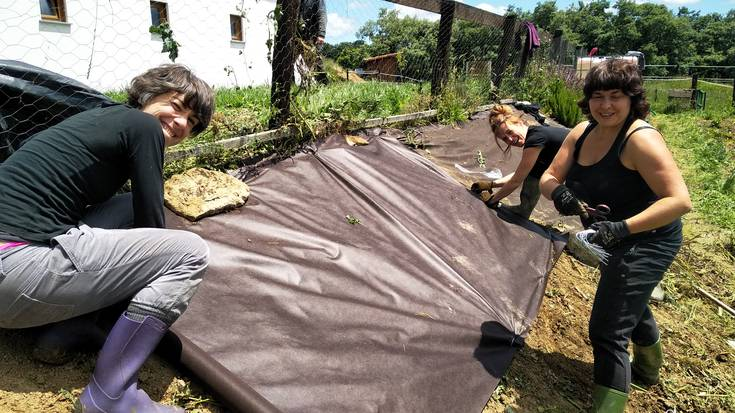 Etxaldeko emakumeen auzolana Oskotzen