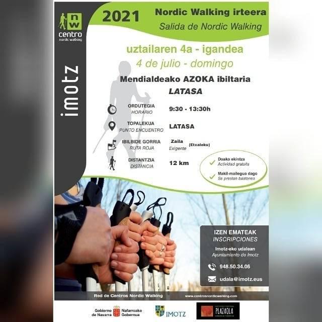 Nordic Walking irteera Latasatik