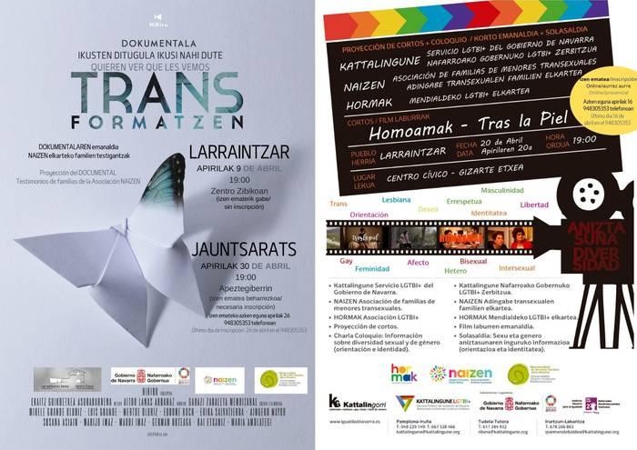 'Transformatzen' dokumentalaren emanaldia