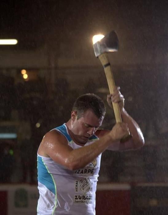 Julen Kañamares, seigarrena banakako pentatloieko finalean
