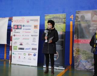 Uharte Arakilgo gazta txapelketan bigarren postua lortu du Marta Perez Loperenak