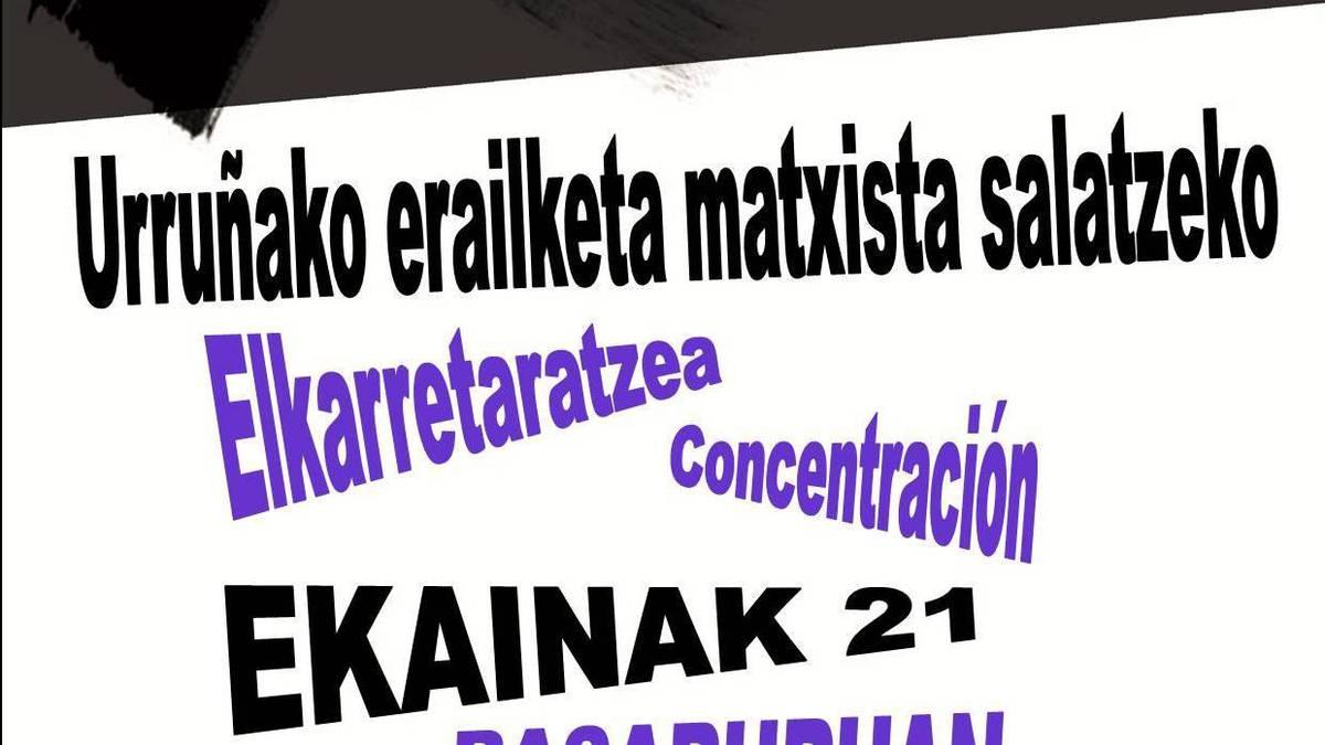 Elkarretaratzea deitu du Basaburuko Bilgune Feministak