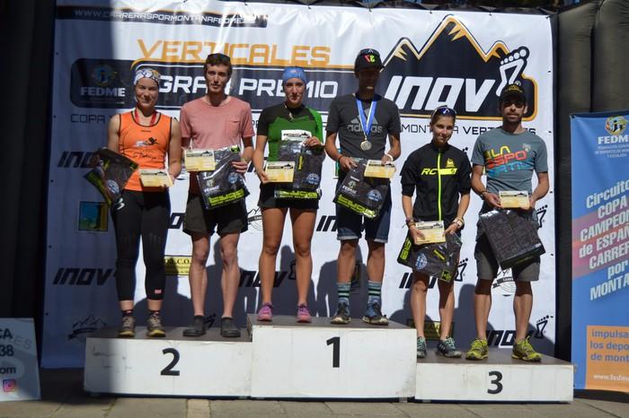 Lucia Oscozek Espainiako kilometro bertikaletako kopa irabazi du