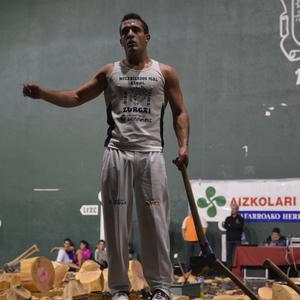 Mikel Eugik eta Itxaso Onsalok irabazi dute Nafarroako arpana txapelketa mistoa