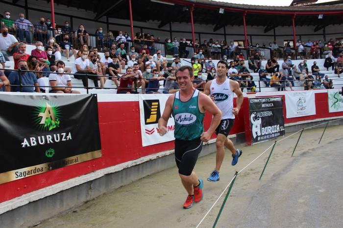 Euskal Pentatloiko finaletik bi segundora gelditu da Julen Kañamares