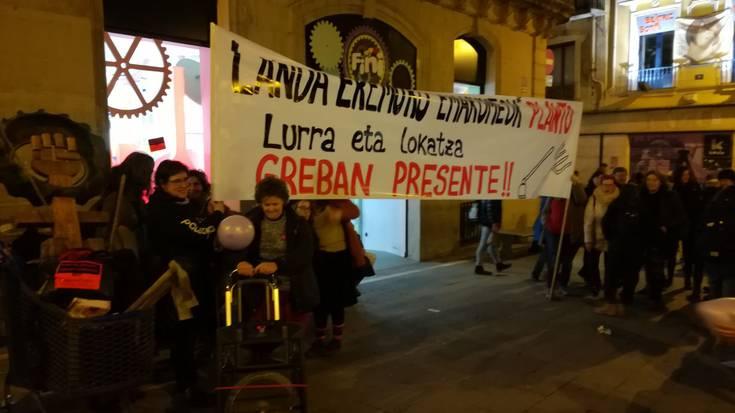 Eskualdeko greba feministaren inguruko zehaztasunak Erruki eta Aioraren eskutik